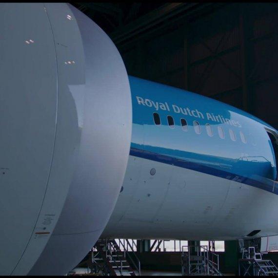 KLM vliegtuig OOVC